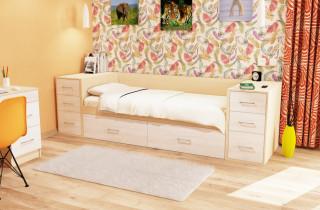 Кровать «Джуниор 1» с матрасом