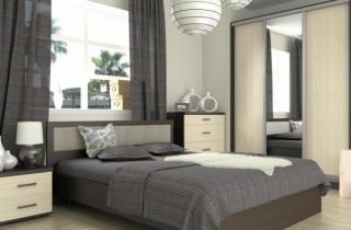 Спальня «Авангард» с матрасом