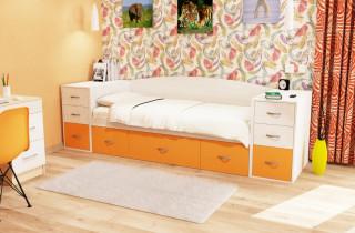 Кровать «Джуниор 2» с матрасом