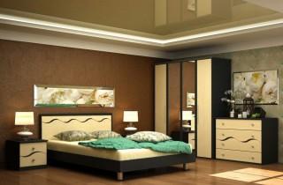 Спальня «Виоллета 2» с матрасом