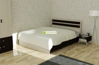 Кровать «Абрианна 1»  с матрасом