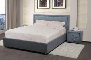 Кровать «Аккорд» с ортопедическим основанием и матрасом