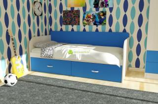 Кровать Алиса Комбо с матрасом 70х186