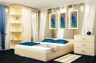 Спальня «Анастасия» с матрасом