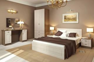 Спальня «Ангелина»  МДФ с матрасом