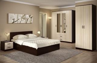 Спальня «Астра 2» с матрасом