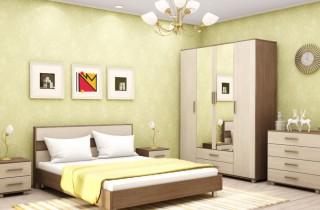 Спальня «Брюсель Люкс» с матрасом