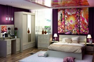 Спальня «Виктория» с матрасом