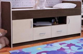 Кровать - чердак «Джери» с матрасом