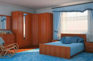 Спальня «Габриэлла 2» с матрасом