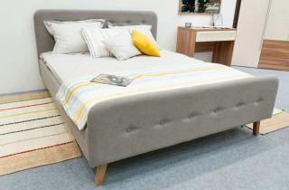 Кровать «Герда» с ортопедическим основанием и матрасом