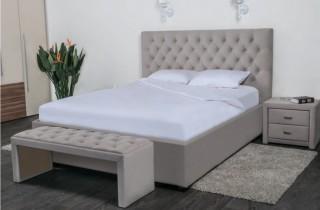 Кровать «Грация» с ортопедическим основанием и матрасом