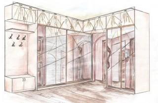 Шкафы по индивидуальным проектам
