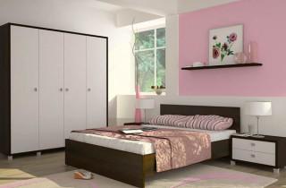 Спальня «Капри» с матрасом