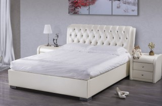 Кровать «Алиса» с ортопедическим основанием и матрасом