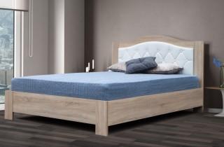Кровать «Маркиза» с ортопедическим основанием и матрасом