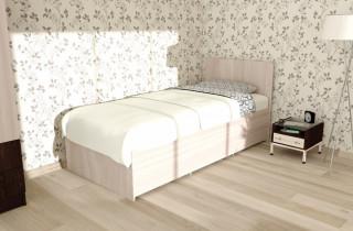 Кровать «Омега Комбо» с матрасом 70х186