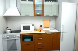 Кухня «Линда» МДФ 1.5