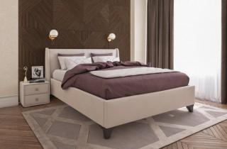 Кровать «Лорен» с подъемным механизмом и матрасом