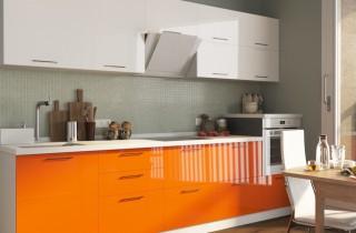 Кухни по индивидуальным проектам с фасадом «МДФ»