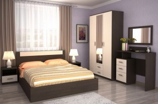 Спальня «Модерн»  с матрасом