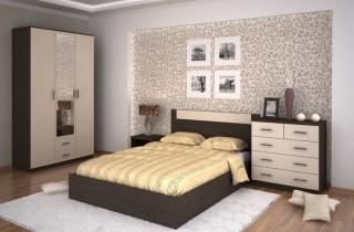 Спальня «Модерн 2» с матрасом