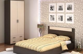 Спальня «Модерн 3» с матрасом