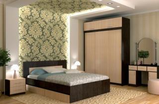 Спальня «Готика» с матрасом