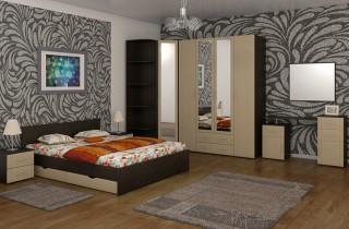 Спальня «Каролина» с матрасом
