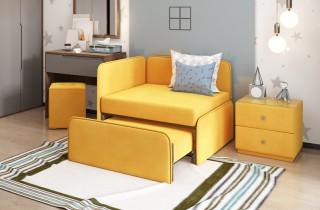 Кресло-кровать «Тетрис КОМПАКТ» с матрасами