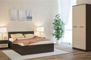 Спальня «Трио» с матрасом