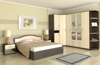 Спальня «Дженифер» с матрасом
