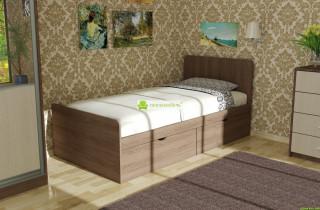 Кровать «Виола» с матрасом + 2 ящика