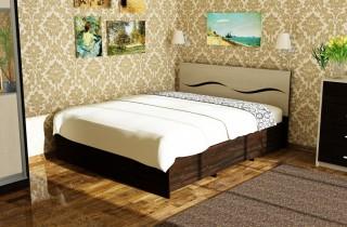 Кровать «Виолетта 1» с матрасом