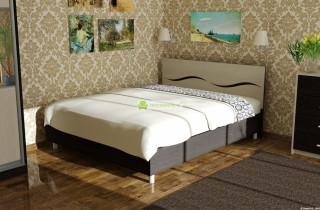 Кровать «Виолетта 2» с матрасом