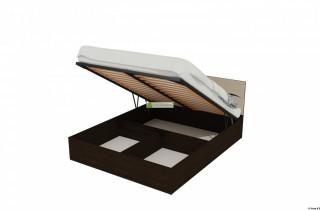 Кровать «Виолетта 3» с матрасом