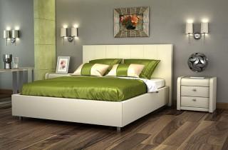 Кровать «Вита» с ортопедическим основанием и матрасом
