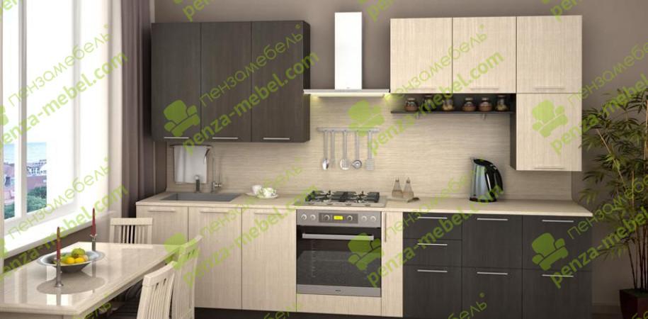 Кухни по индивидуальным размерам с фасадом «ЛДСП»